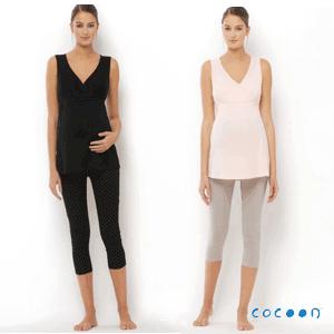 Pijamale pentru gravide Cocoon