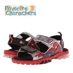 Sandale baieti Spiderman - Favourite Characters - Personaje desene animate