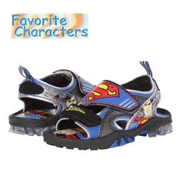 Sandale baieti Superman Favourite Characters personaje desene animate
