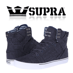 Skate Shoes Supra SkyTop Slate Blue