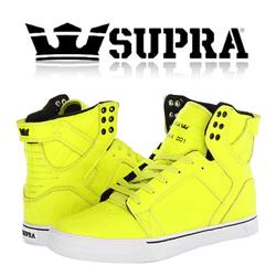 Skate Shoes barbati Supra Skytop Yellow