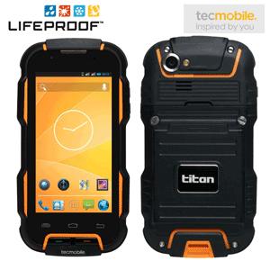 Smartphone rezistent Dual Sim TITAN 600 Tecmobile