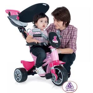 Triciclete Injusa pentru copii peste 10 luni