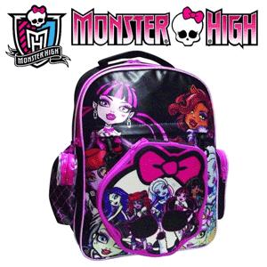BTS Ghiozdan Monster High Pencil Case pentru fete 6 - 12 ani