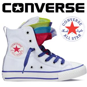 Bascheti copii Converse Chuck Taylor All Stars 3 5 limbi colorate