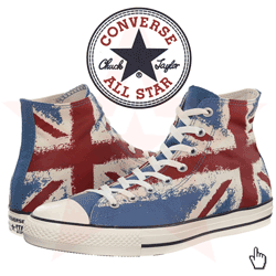 Converse Chuck Taylor® All Star® Flag Print Hi