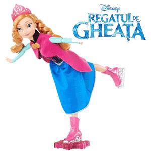 Papusa Anna Patinatoare, Disney Regatul De Gheata (Frozen)