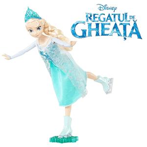 Papusa Elsa Patinatoare, Disney Regatul De Gheata (Frozen)