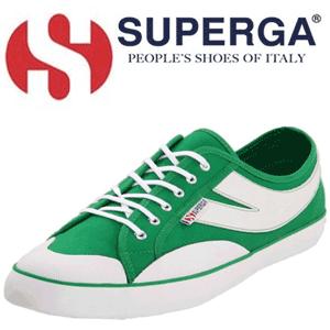 Superga Men's 2152 Cotu Fashion Sneaker tenisi verzi pentru barbati
