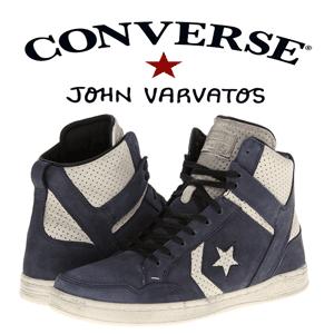 Bascheti Converse by John Varvatos din piele pentru barbati