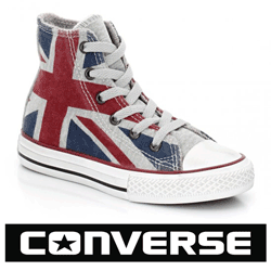 Bascheti Converse UK Flag