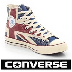 Bascheti Converse UK si US Flag