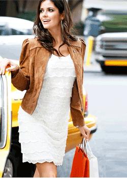 Geaca din piele eleganta Napa - moda pentru femei primavara vara