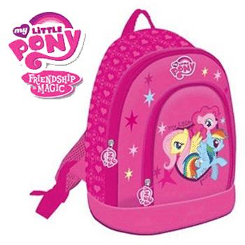 Ghiozdan My Little Pony pentru fetite. Cu Micii Ponei la gradinita si scoala