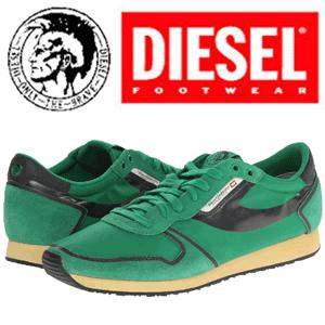 Adidasi verzi Diesel Great Era Pass On pentru barbati
