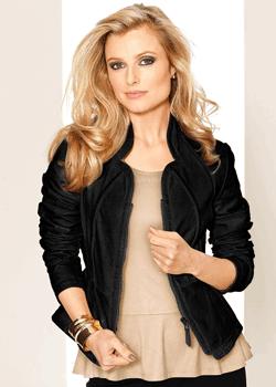 Jachetă dama din piele Nappa