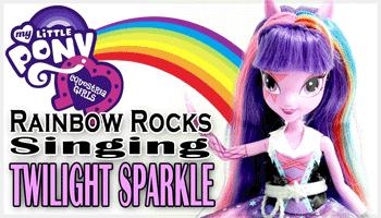 Papusile cantarete My Little Pony Equestria Girls Rainbow Rocks - jucarii muzicale online