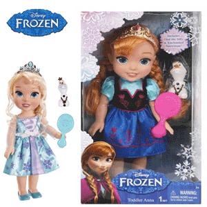 Papusa Printesa Anna Disney Frozen Regatul de gheata