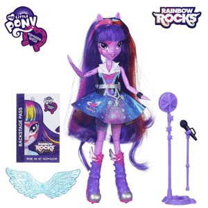 Equestria Girls cantarete Rock - Rainbow Rocks