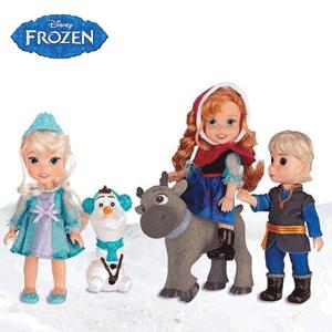 Papusi personaje Disney Frozen Kids - Regatul de Gheata