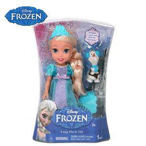 Papusa Printesa Anna si Olaf Disney Frozen