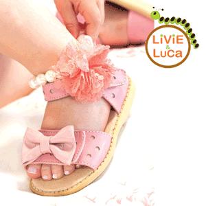 Sandale din piele naturala Livie and Luca la eMAG