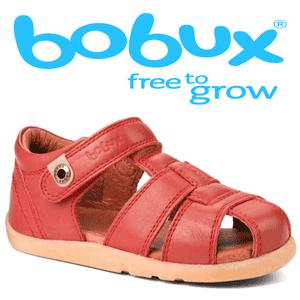 Sandalute din piele naturala pentru fetite Bobux 2-5 ani