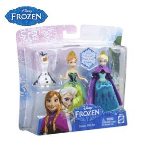 Set 3 figurine Disney Frozen - Anna Elsa Olaf