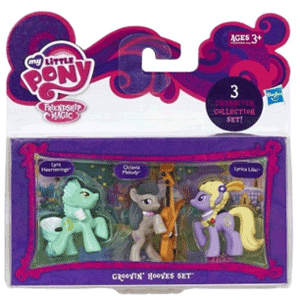Set de 3 figurine My Little Pony