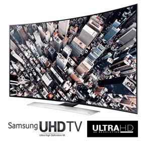 Televizoarele curbate Samsung Curved UHD (Ultra High Definition) cu diagonala mare