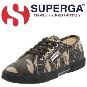 Tenisi camuflaj Superga Army 2950 Cotcamo J
