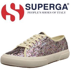 Tenisi fashion Superga Glitter 2750 pentru femei