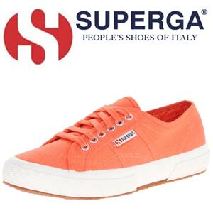 Tenisi portocalii de dama SuperGa de vanzare in magazinele romanesti