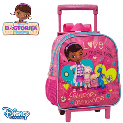 Troler Doctorita Plusica pentru fetite