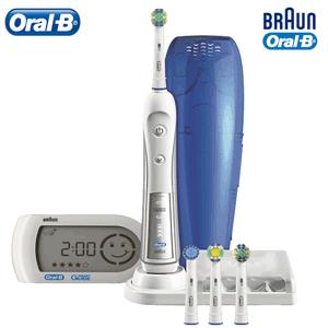 Periuta de dinti Electrica Oral B, powered by Braun D34.545 Triumph + Smartguide