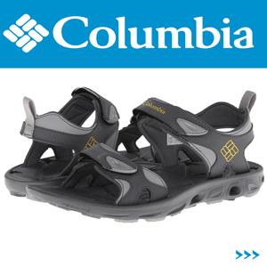 Sandale outdoor pentru barbati Columbia Suntech Vent Black Grey