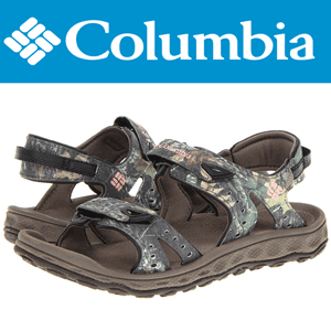 Ia-ti o pauza in aer liber, astfel încât să puteți disparea in razele soarelui si in valurile apei cu sandalele de dama Columbia Techsun Camo 3.