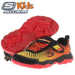 Skechers Kids Gore & Strap Sneaker incaltaminte sport pentru copii baieti