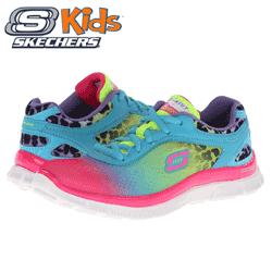 Adidasi Skechers multicolori Skech Appeal pentru copii