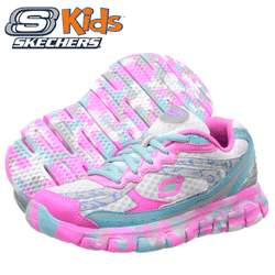 Adidasi fetite Skechers Kids Synergy Confetti