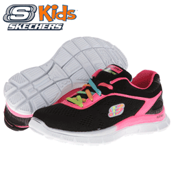 Adidasi fete Skechers KIDS Skech Appeal - Whimz