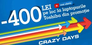 Oferta eMAG la laptopurile Toshiba