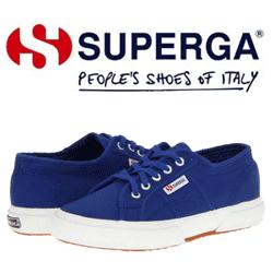Clasicii Tenisi Superga 2750 pentru copii de culoare albastra