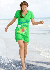 Rochie de plaja model sport