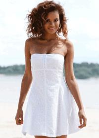 Rochie scurta de plaja - un must have pentru vara