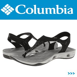 Sandale dama Columbia Suntech Vent T de culoare neagra