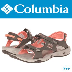 Sandale dama Columbia Suntech Vent Orange ideale pentru mediu uscat si umed