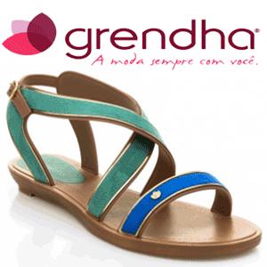 Sandale dama Grendha Amour culoare verde - Sandale rezistente, impermeabile din cauciuc pentru femei
