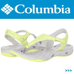 Sandale dama Columbia Sunset Tech Vent T culoare galbena