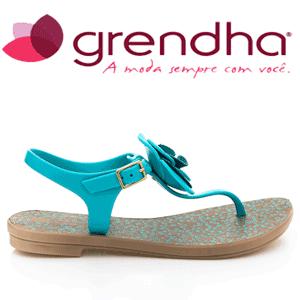 Sandale verzi Grendha Acai Beija Flor de dama